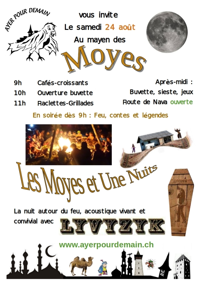 Flyer MoyesetUneNuits