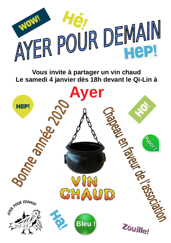 Flyer Vin Chaud 2019